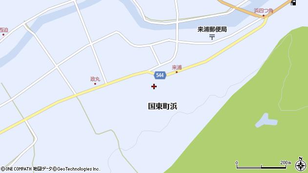 大分県国東市国東町浜3977周辺の地図