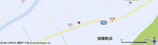 大分県国東市国東町浜4455周辺の地図