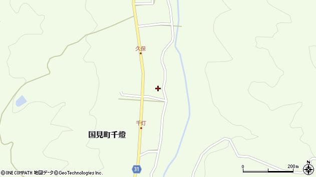 大分県国東市国見町千燈475周辺の地図