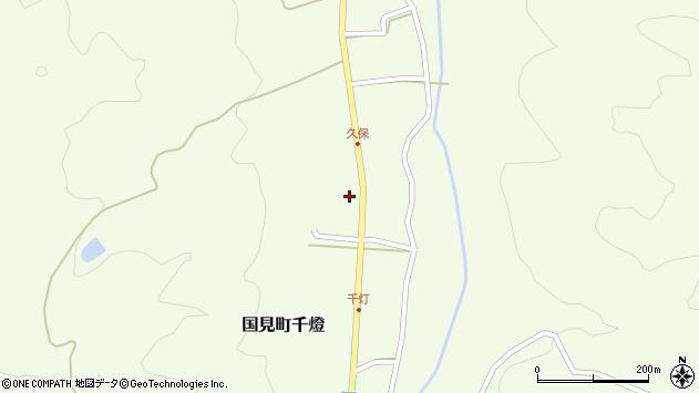 大分県国東市国見町千燈558周辺の地図