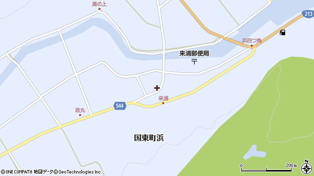 大分県国東市国東町浜3805周辺の地図