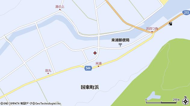 大分県国東市国東町浜3800周辺の地図