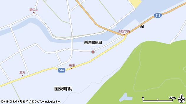 大分県国東市国東町浜3776周辺の地図