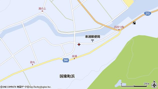 大分県国東市国東町浜3809周辺の地図
