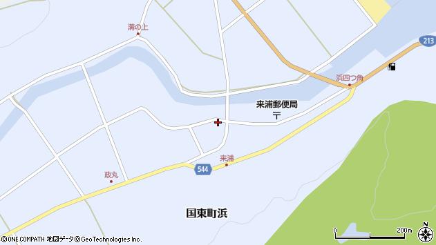 大分県国東市国東町浜3797周辺の地図