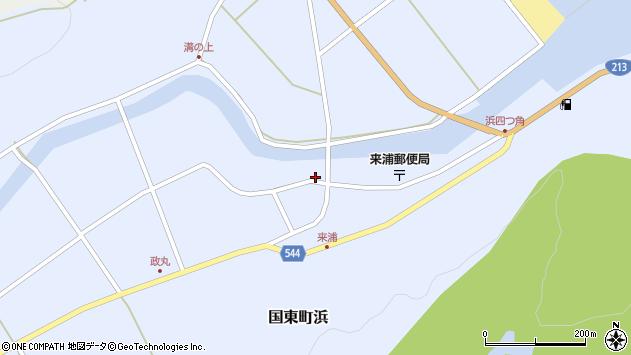 大分県国東市国東町浜3796周辺の地図