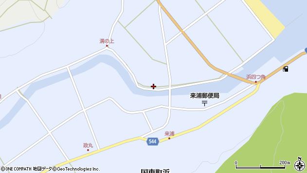大分県国東市国東町浜4783周辺の地図