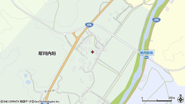 福岡県京都郡みやこ町犀川内垣周辺の地図
