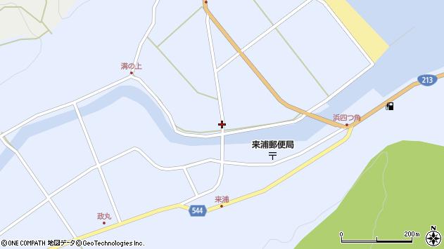 大分県国東市国東町浜4794周辺の地図
