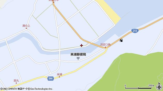 大分県国東市国東町浜4824周辺の地図
