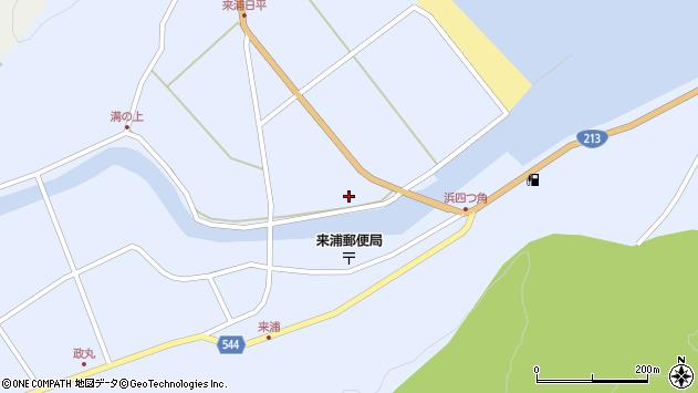 大分県国東市国東町浜4830周辺の地図