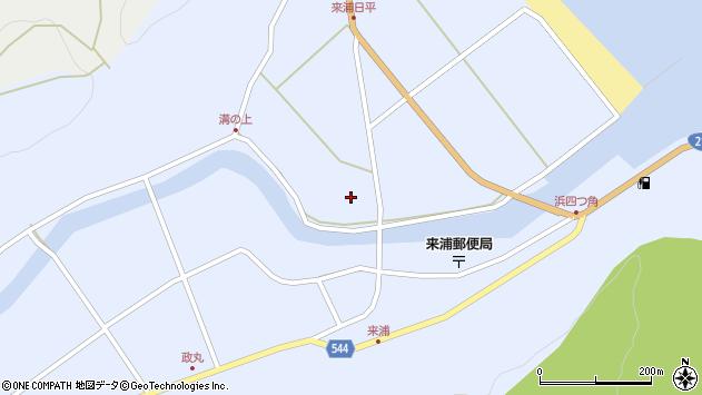 大分県国東市国東町浜4781周辺の地図