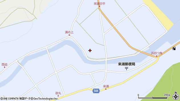 大分県国東市国東町浜4758周辺の地図