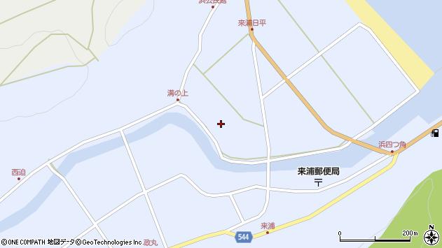 大分県国東市国東町浜455周辺の地図