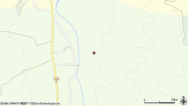 大分県国東市国見町千燈黒園周辺の地図