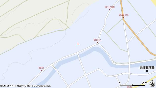 大分県国東市国東町浜5801周辺の地図