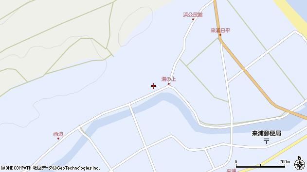 大分県国東市国東町浜5358周辺の地図