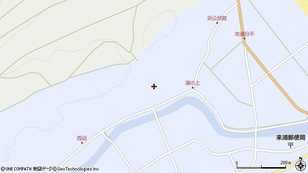 大分県国東市国東町浜5799周辺の地図