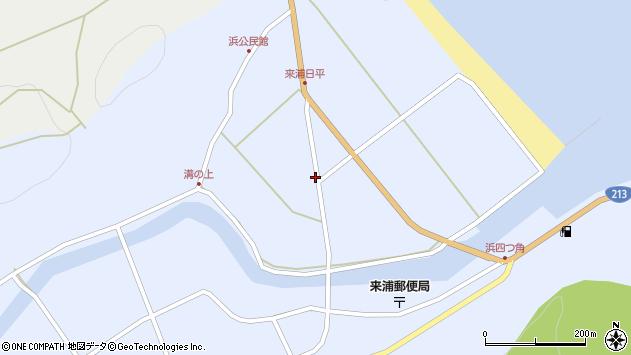 大分県国東市国東町浜4880周辺の地図