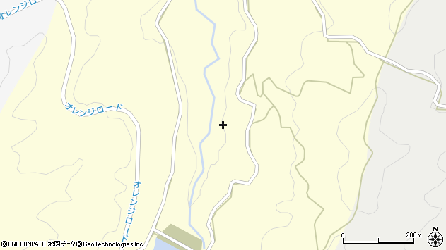 大分県国東市国見町大熊毛熊毛河内周辺の地図
