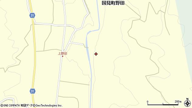 大分県国東市国見町野田81周辺の地図