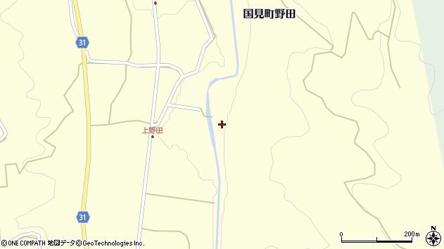 大分県国東市国見町野田86周辺の地図