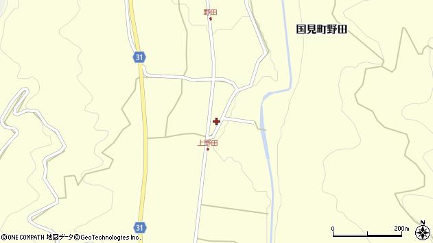 大分県国東市国見町野田1500周辺の地図