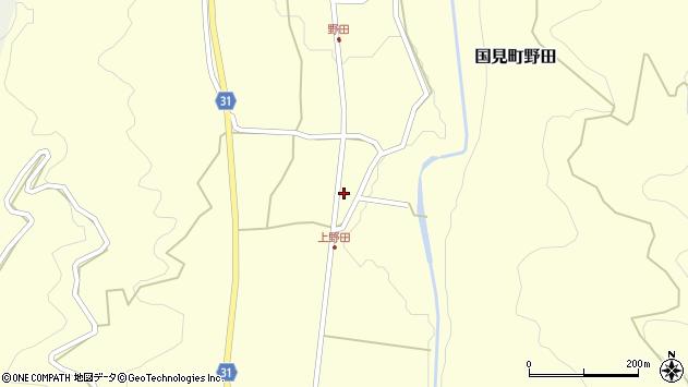 大分県国東市国見町野田1505周辺の地図
