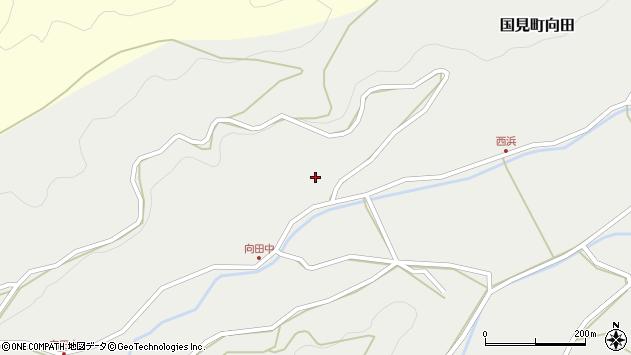 大分県国東市国見町向田305周辺の地図