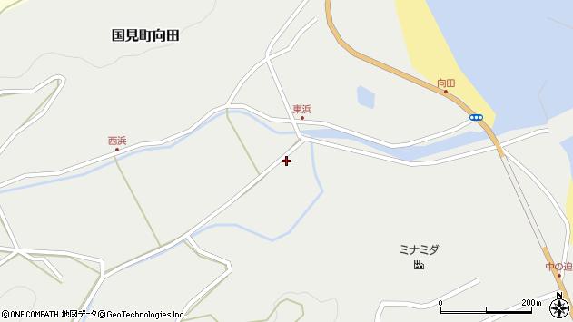 大分県国東市国見町向田1775周辺の地図