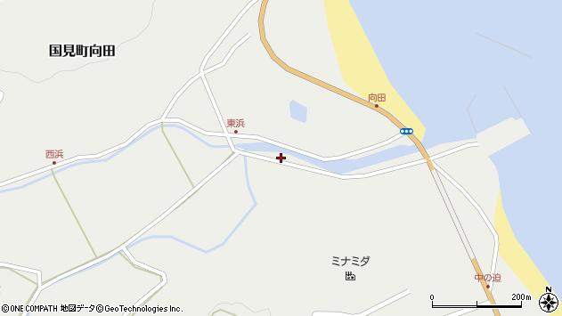 大分県国東市国見町向田1957周辺の地図
