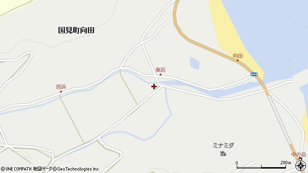 大分県国東市国見町向田1778周辺の地図