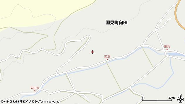 大分県国東市国見町向田238周辺の地図