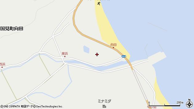 大分県国東市国見町向田1894周辺の地図