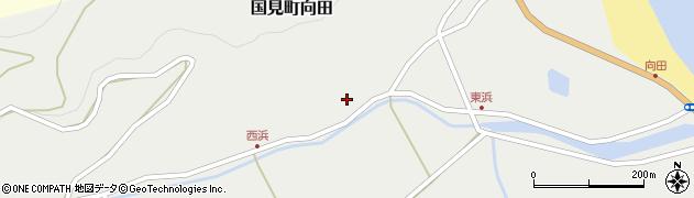大分県国東市国見町向田175周辺の地図