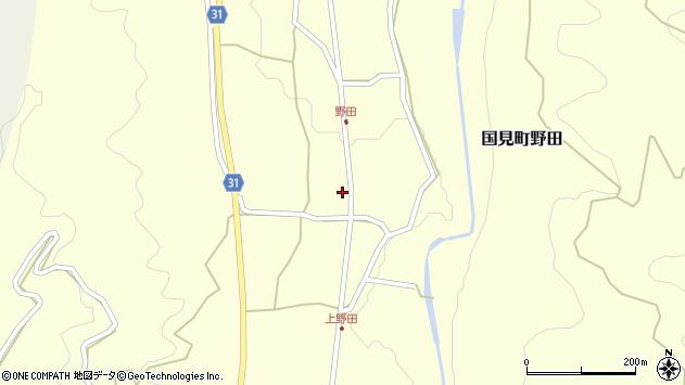 大分県国東市国見町野田1520周辺の地図