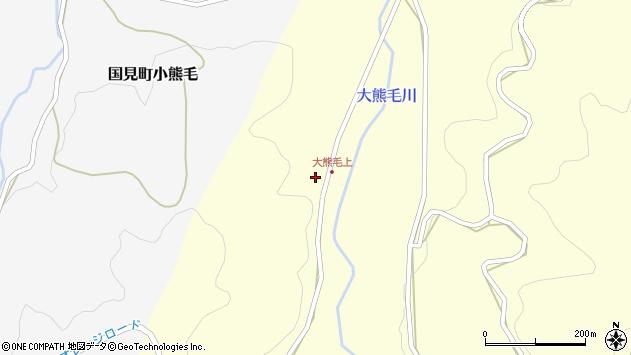 大分県国東市国見町大熊毛702周辺の地図