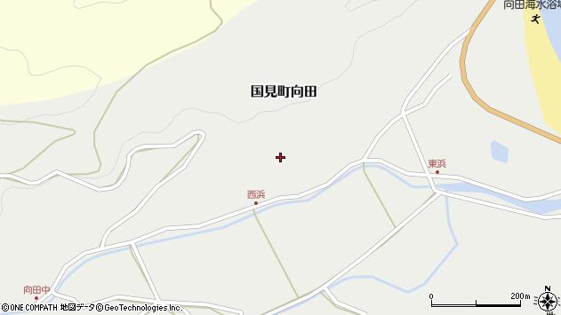 大分県国東市国見町向田191周辺の地図