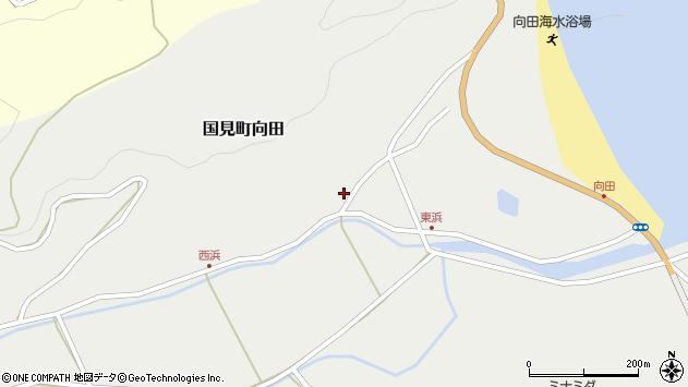 大分県国東市国見町向田1796周辺の地図