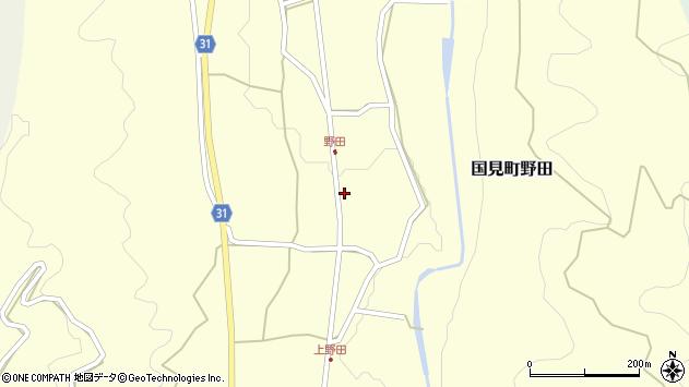 大分県国東市国見町野田941周辺の地図