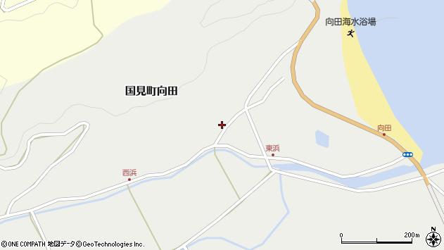 大分県国東市国見町向田1799周辺の地図