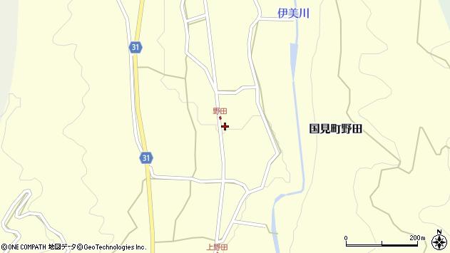 大分県国東市国見町野田844周辺の地図