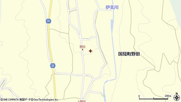 大分県国東市国見町野田846周辺の地図