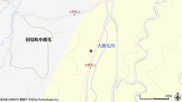 大分県国東市国見町大熊毛672周辺の地図