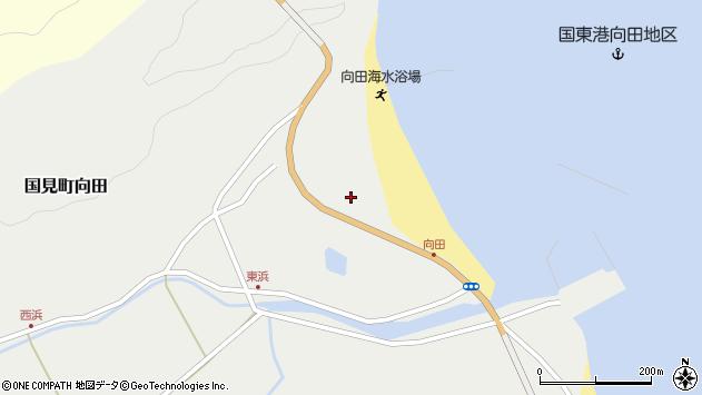 大分県国東市国見町向田1887周辺の地図