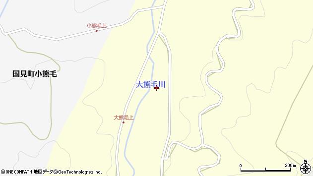 大分県国東市国見町大熊毛1591周辺の地図