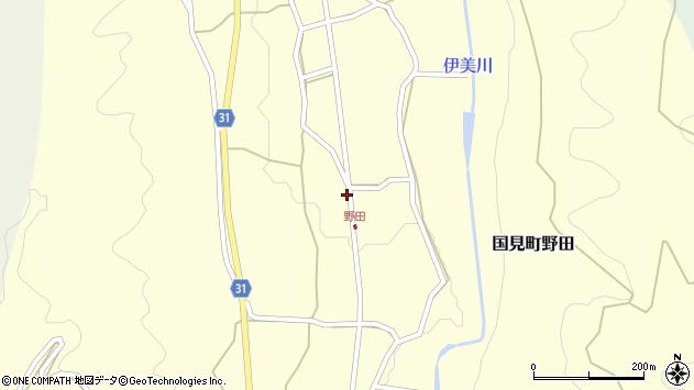 大分県国東市国見町野田1714周辺の地図