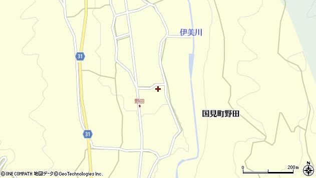 大分県国東市国見町野田831周辺の地図