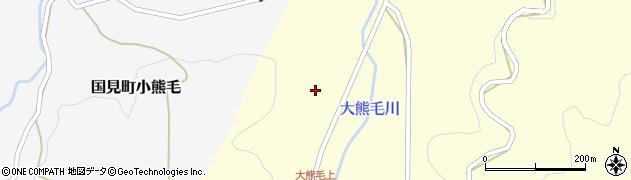 大分県国東市国見町大熊毛624周辺の地図