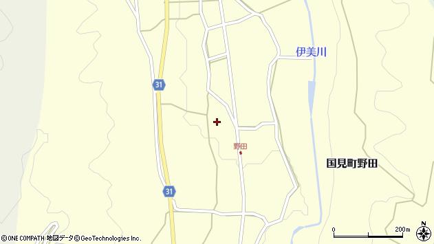 大分県国東市国見町野田1720周辺の地図